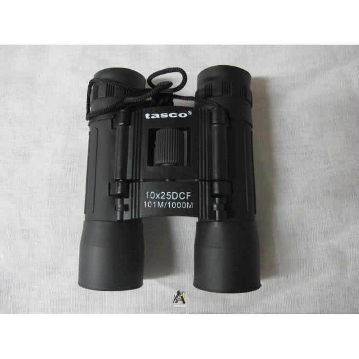 Бінокль Tasco 10х25 чорний
