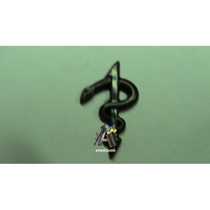 Емблема медиків польова, нового зразка
