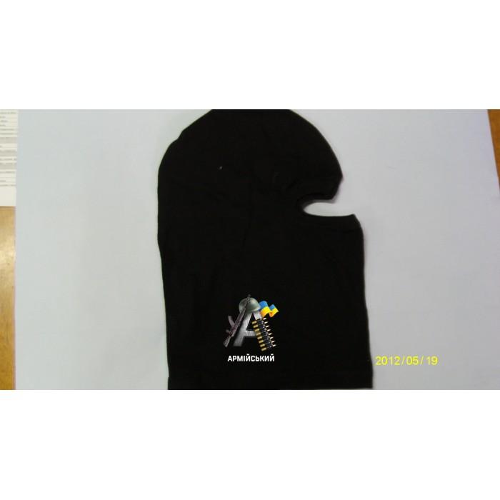 маска феска черная