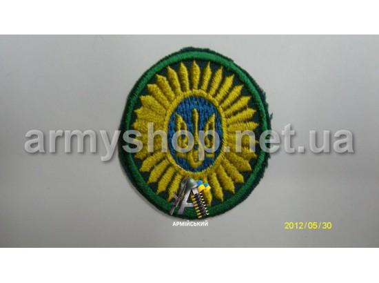 Кокарда офицерская зеленая