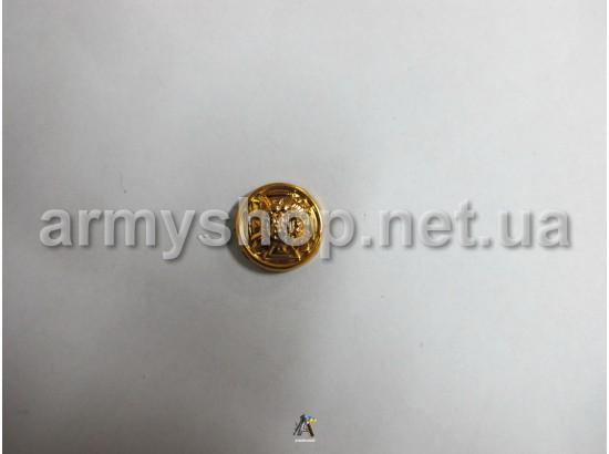 Пуговица МЧС маленькая, золотая