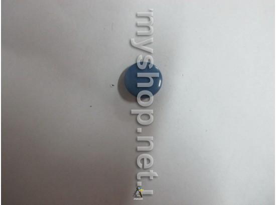Гудзик грибочок синя