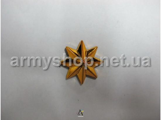 Звезда казачья, золотая 3