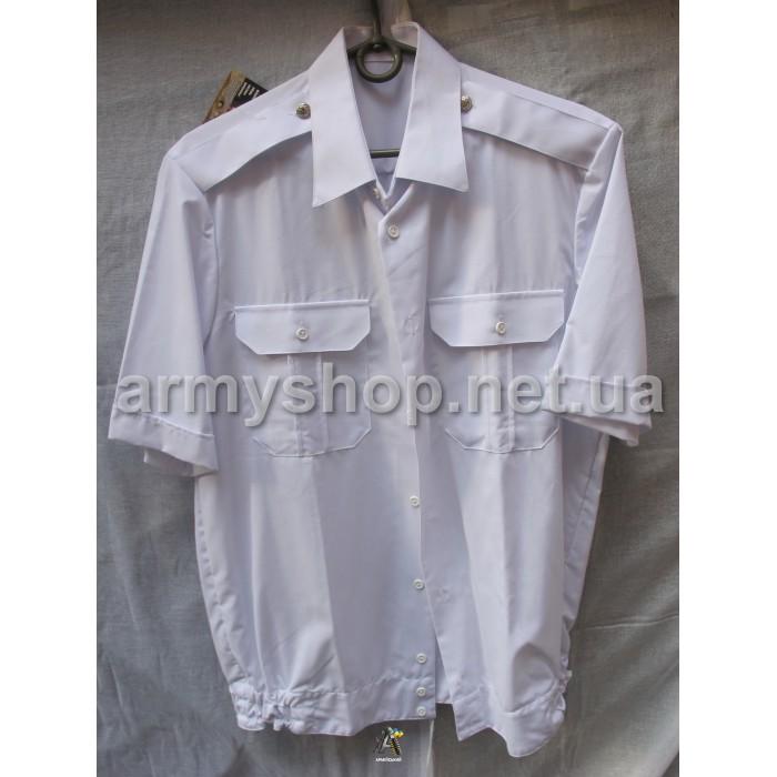 Рубашка МВД белая, короткий рукав