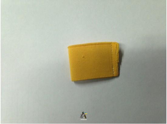 Лички гумка широка жовта