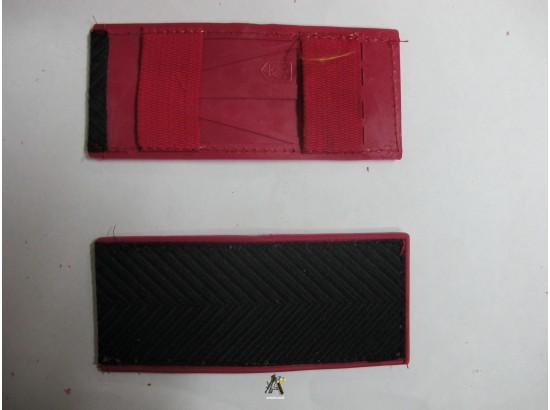 Погоны МВД черные(куртка), рядовой состав