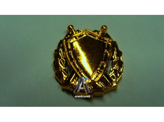 Эмблема юстиции золотая