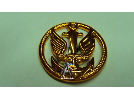 Эмблема морской пехоты золотая, нового образца