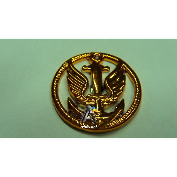 Емблема морської піхоти золота, нового зразка