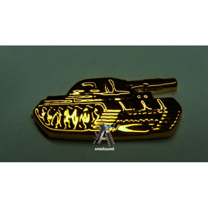 Емблема танкових військ золота, нового зразка