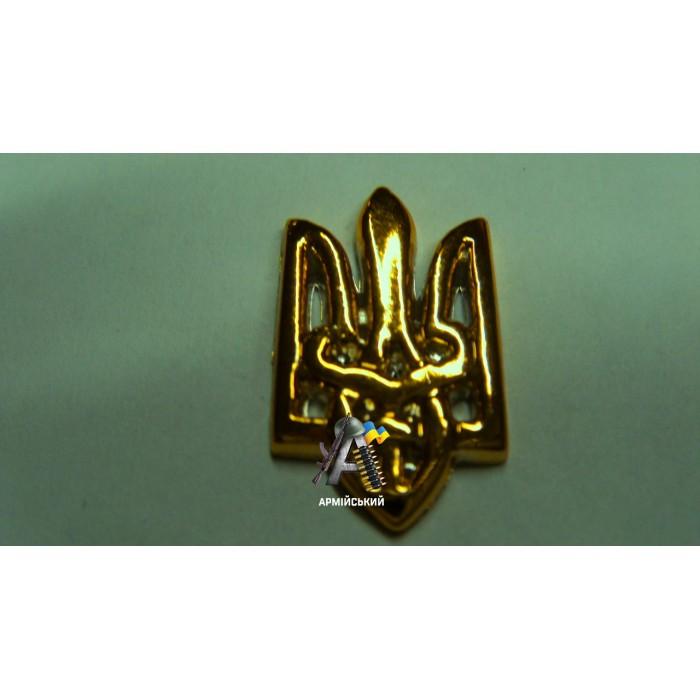 Емблема тризуб золота