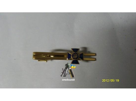Затиск для краватки СБУ метал хром
