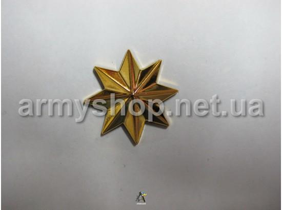 Звезда казачья, золотая 4