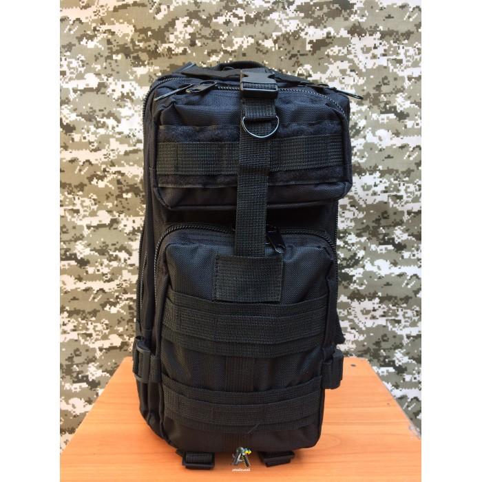 Тактичний рюкзак 1. Черній 25 л